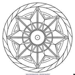 Mandala da colorare luglio 2015 mandalaweb for Immagini sole da colorare