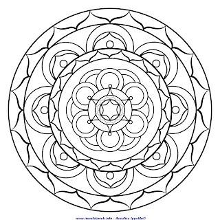 Mandala Del Mese Di Giugno Da Colorare Mandalaweb