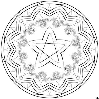 Nuovi Mandala Di Natale Da Colorare Per Bambini Mandalaweb